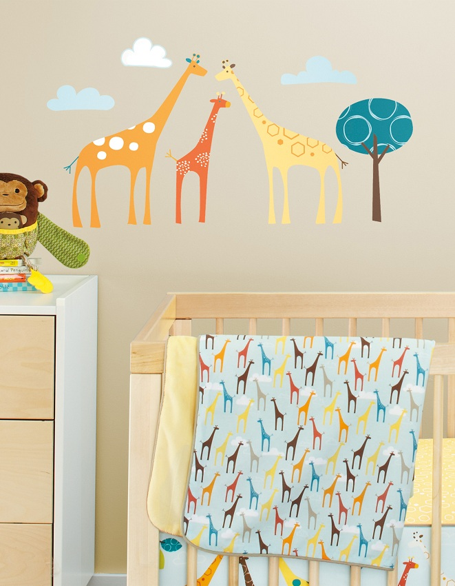 Skip Hop väggdekaler giraffer