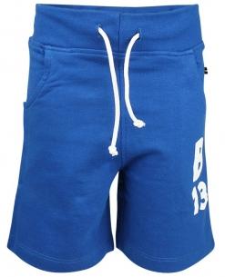 Blåa shorts